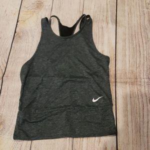 Nike dri fit Gray tank Size small